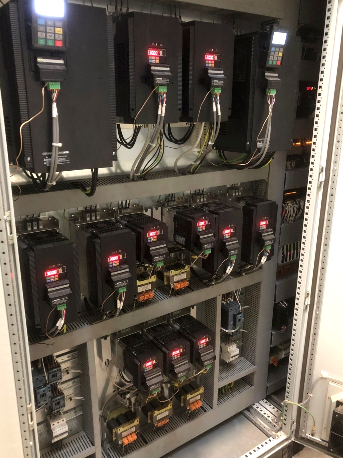 Control Panels and MCCs PAC Case Study Paint Spray Booth