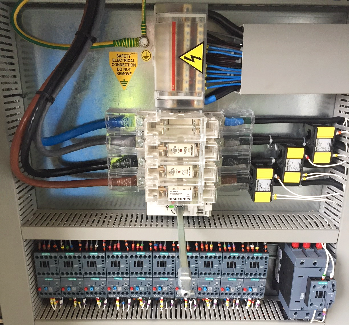 Industrial Electrical Installation Case Study Manufacturing PAC Group