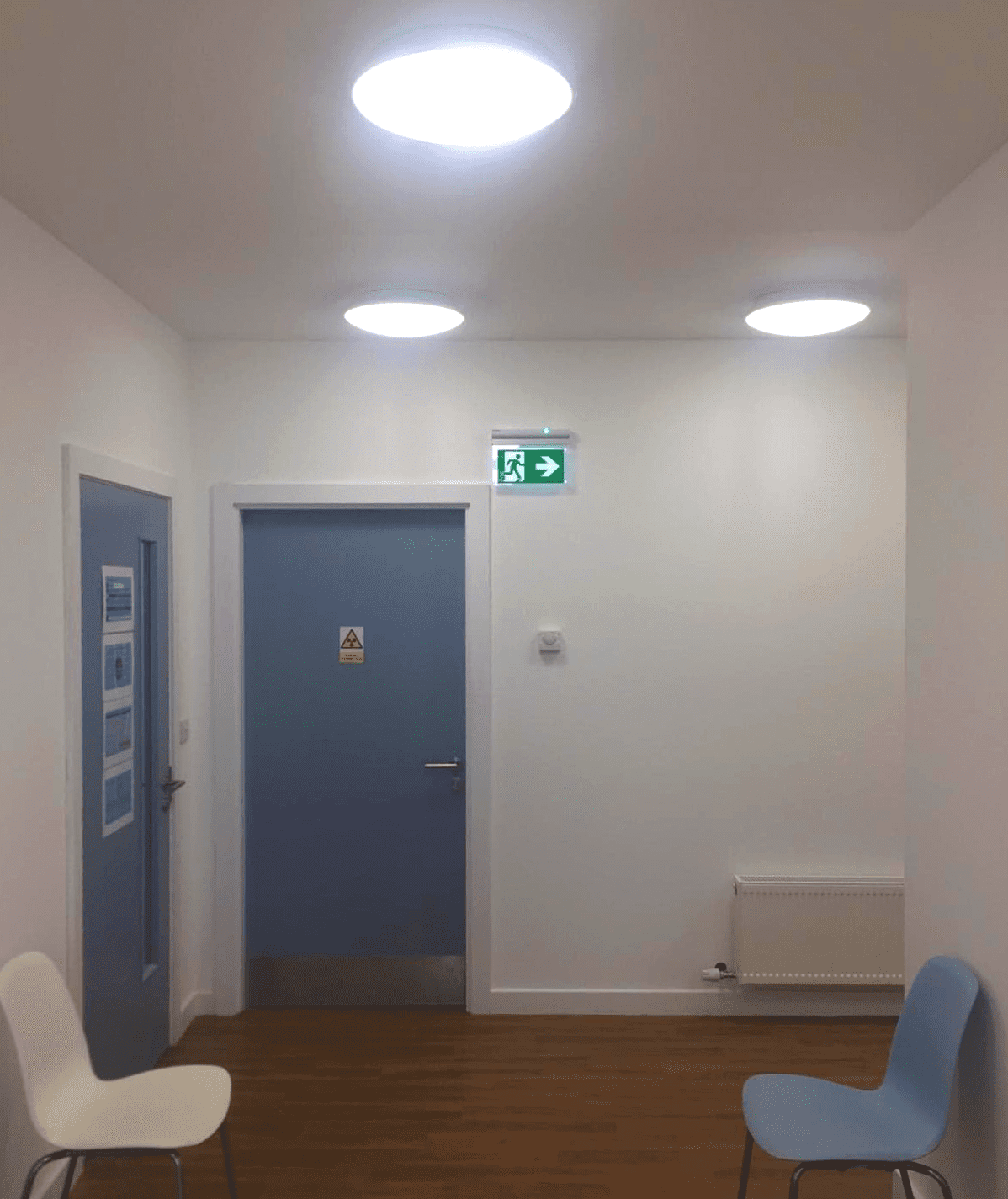 PAC Electrical Healthcare Commercial Project Emergency Lighting