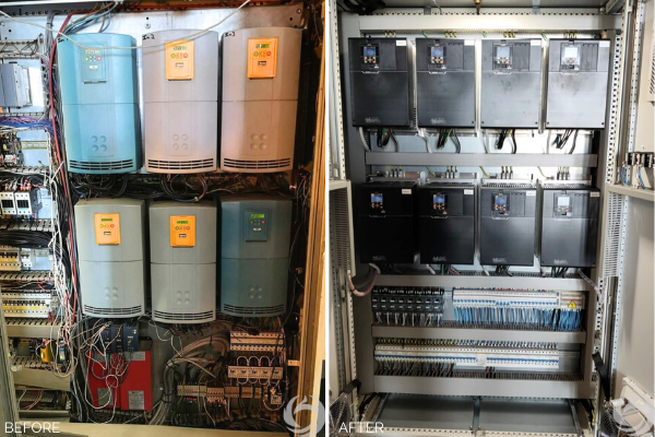 Paint Spray Booth Control Panel Case Study